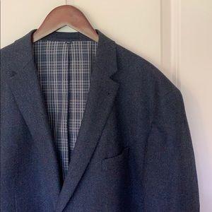 JosABank Big & Tall Wool Blazer